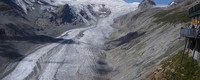 Glaciers retreat in Austria in 2100