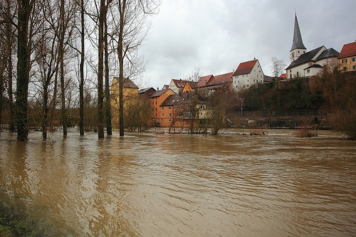 Global flood risk under climate change