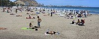 Climate potential for beach-based tourism in the Mediterranean in the 21st century