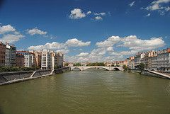Climate change impacts on discharges of the Rhone River in Lyon