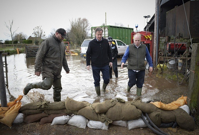 Indeed David Cameron: climate change may have influenced England's 2013/2014 winter floods