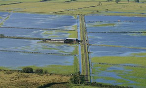 Recent flooding England and Wales not due to more intense rainfall