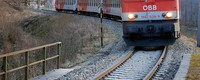It pays off to adapt road and rail transport to climate change. Austria as an example