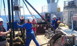 The Dutch are drilling in the North Sea to reconstruct sea level rise