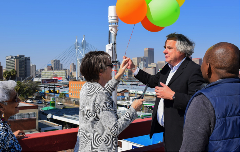 Coming to Johannesburg: weather stations for climate (change) adaptation and awareness!