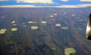 Ground settlement due to melting permafrost will affect a large part of the Northern Hemisphere