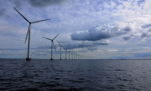 """North Sea Power Hub"" plan to create an artificial island for large scale wind power production"