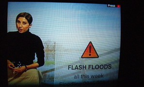 Drier summers may lead to more flash floods in Scotland 