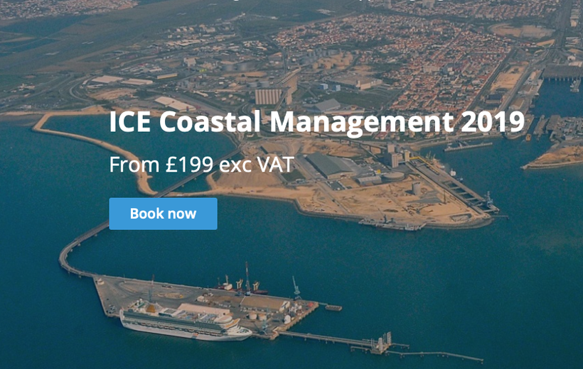 Advertisement – Conference ICE Coastal Management 2019