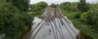 Global warming will increase damage of river flooding to European railways